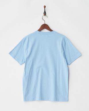 ブルー サマーメッセージTシャツ S/Sを見る