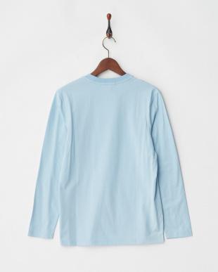 ブルー 40/2カラーTシャツ L/Sを見る