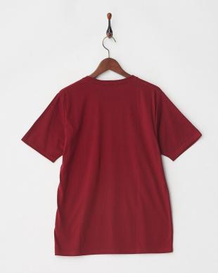 ボルドー ジャガード切替Tシャツ S/Sを見る