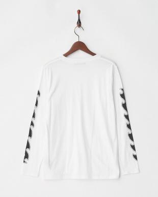 ホワイト デオポケットクルーネックTシャツ L/Sを見る