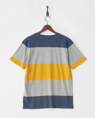 パターン2 パネルボーダーTシャツ S/S見る