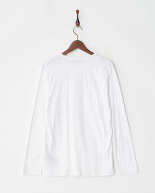 オフホワイト ツインロールTシャツ L/S見る