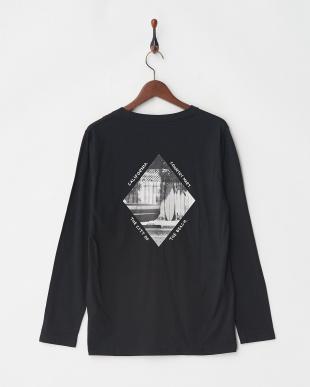 ブラック フォトTシャツ L/S 3を見る
