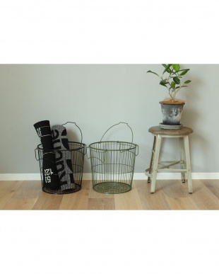 WH WIRE STORAGE LAUNDRY BASKET_M見る