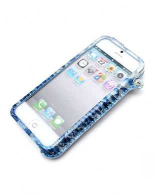 Aqua Blue LIM`S Anaconda Special Edition iPhone SE/5S/5用見る