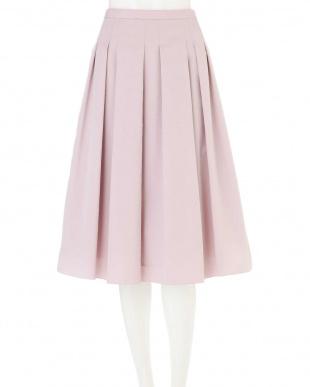 ピンク ◆大きいサイズ◆タックスカート Aylesbury L見る