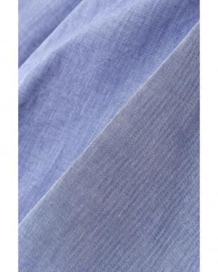 シャンブレーブルー 《BLUE》タックフォルムブラウス ナチュラルビューティB見る