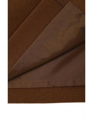 ブラウン |美人百花 10月号掲載|〈ウォッシャブル〉フロントボタンストレートスカート ナチュラルビューティB見る