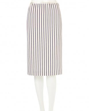 オーキッド ◆大きいサイズ◆ストライププリントスカート 22 OCTOBRE L見る