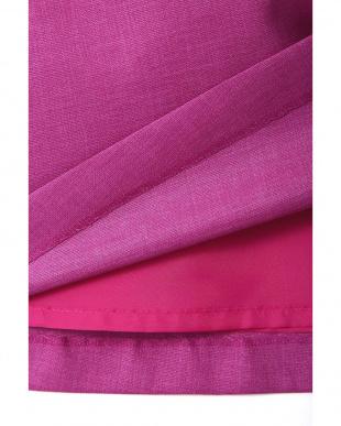 ピンク ◆大きいサイズ◆タックフレアスカート 22 OCTOBRE L見る
