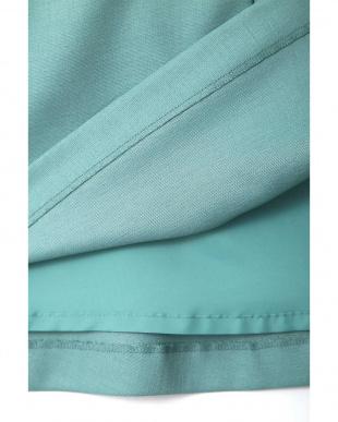 グリーン ◆大きいサイズ◆タックフレアスカート 22 OCTOBRE L見る