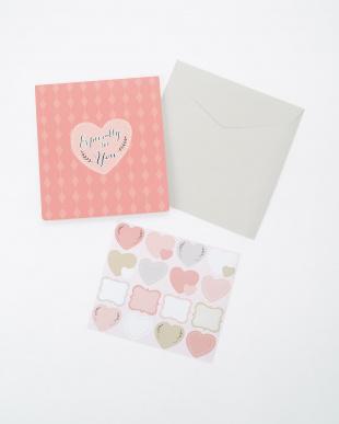 ピンク  ポップアップ色紙・ギフト/色紙見る