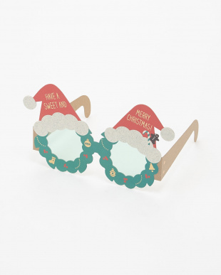 トナカイ/サンタ  パーティーグラス/クリスマスカード 2種×2セット(計4個)見る