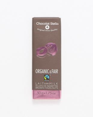 オーガニック ミルクヘーゼルナッツ チョコレート 3枚セット見る