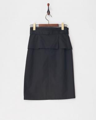 クロ ツイルタイトスカート見る