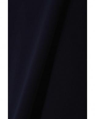 ネイビー [ウォッシャブル]ライトサテンブラウス BOSCH見る