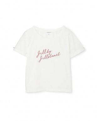 ホワイト1 ジルロゴTシャツ Jill by Jill リプロ見る