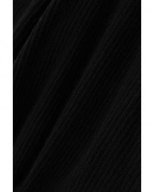 ブラック1 [Gia冬号掲載]カシュクールリブニット R/B(オリジナル)見る