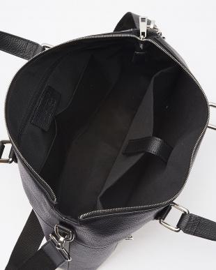 ブラック イタリアンカーフメンズビジネスバッグを見る