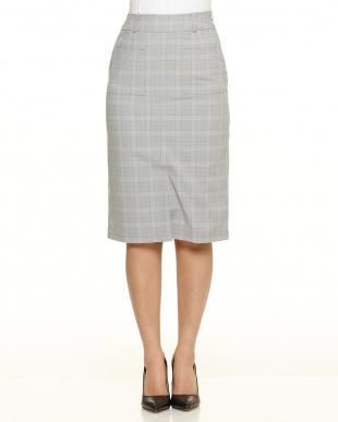 LT.GREY pIT/CHKタイトスカートを見る