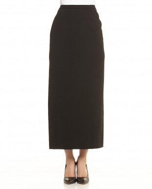 ブラック ブラックフォーマル マキシロングタイトスカート見る