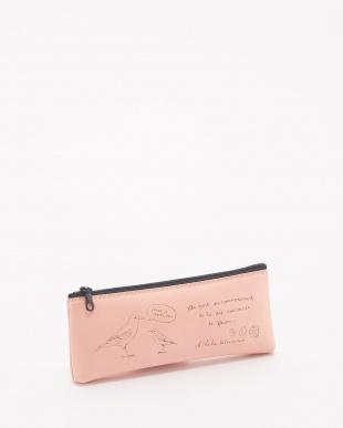 ピンク  ペンケース&フラットポーチセット/雑貨コレクション・オララゾエ見る