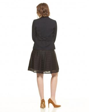 NAVY ツイードジャケット&フレアスカートスーツセットを見る