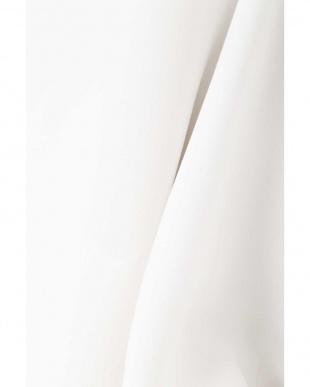 ホワイト [洗える]スポンジジョーゼットブラウス NATURAL BEAUTY見る