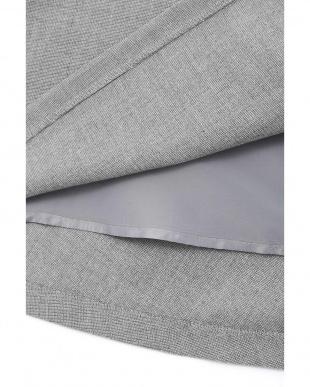 グレー1 [ウォッシャブル]◆ピンヘッドスカート NATURAL BEAUTY見る