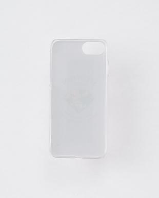 ネイビー  フラワーダイヤ・バックケース iPhone8.7.6s.6/Brilliant見る