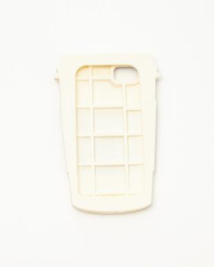 ホワイト iPhone8・7・6s・6背面ケースCOFFEE見る