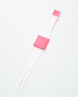 ピンク  腕時計・ネオン/アイ・ライク・ペーパー見る