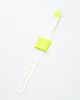 イエロー  腕時計・ネオン/アイ・ライク・ペーパー見る