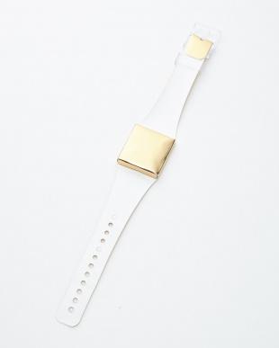 ゴールド  腕時計・メタリック/アイ・ライク・ペーパー見る