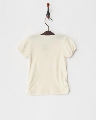 ECRU  オーガニック半袖Tシャツ見る