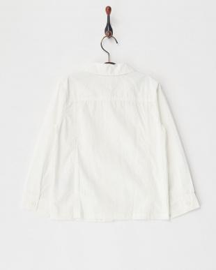 オフホワイト ワークシャツ見る