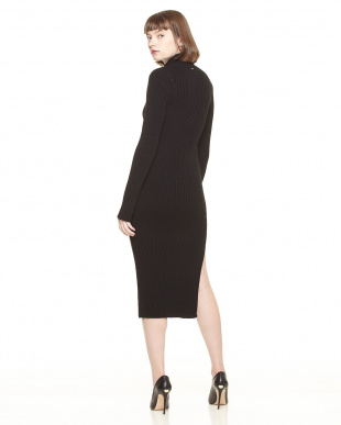BLK  LADIES ONE PIECE SWEATER見る