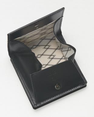 ブラック  BOX折財布見る