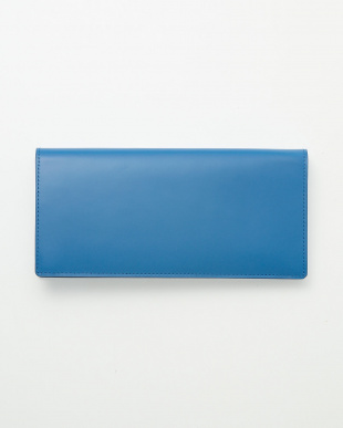 ブルー  長財布見る