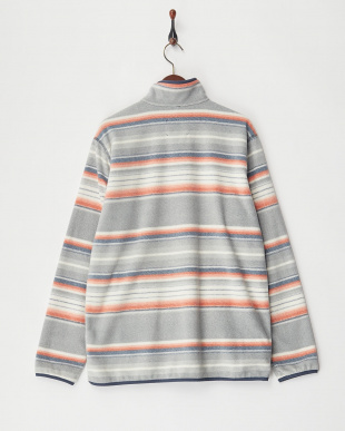 Buster Stripe Hearth Fleece Anorak見る