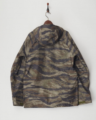 Olive Green Worn Tiger  Gore-Tex Radial Shell Jacket見る