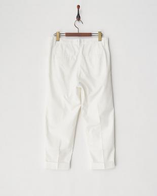 WHITE B:カプリ丈PANTS見る