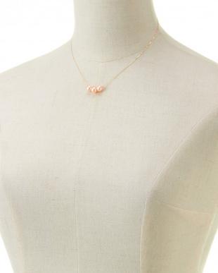 K18YG ピーチカラーパール 7mm ネックレスを見る