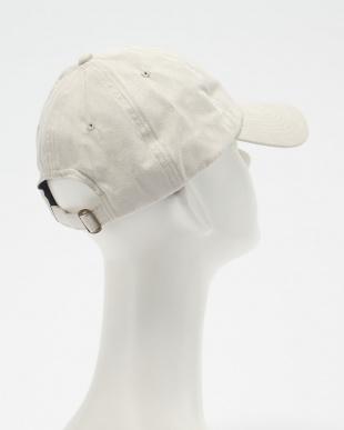 ライトベージュ FAKE SUEDE BB CAP(フェイク スエード ベースボール キャップ)見る