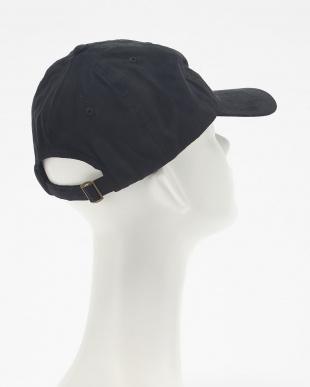 ブラック FAKE SUEDE BB CAP(フェイク スエード ベースボール キャップ)見る