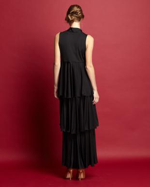 black  PORTICO JERSEY DRESS見る