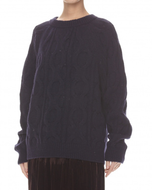 midnight blue DORSO Sweater見る