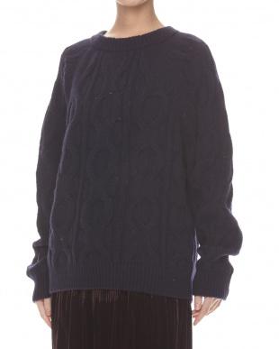 midnight blue  DORSO Sweater見る
