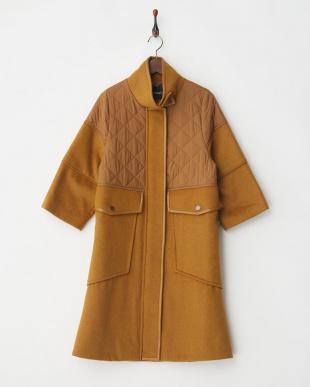bronze DESIDERI Quilted Coat見る