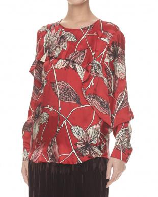 red pattern  PAOLA Shirt見る